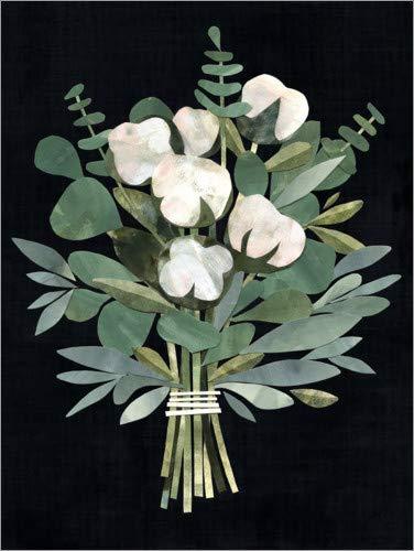 Leinwandbild Rose Blumen