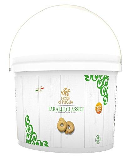 Secchiello Taralli Classici 3 kg Fiore di Puglia