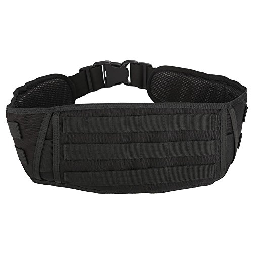 Dioche Tactical Belt, Military Battle Lightweight Nylon Belted Padded Belt Duty Padded Belt for Molle System