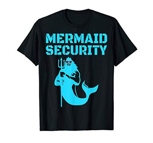Funny Mermaid Security Meerjungfrau Halloween Kostüm - Tote Meerjungfrau Kostüm