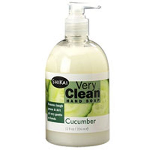 Shikai Products Hand Soap Very Clean Cucumber 12 Oz