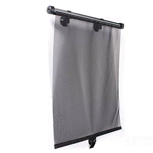 mark8shop 2x Auto Seitenfenster Sonnenschutz Visier Rollo Displayschutzfolie - Screen Roller Shades