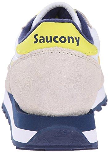 Saucony Jazz Original, Scarpe Low-Top Donna Bianco (White/Yellow)