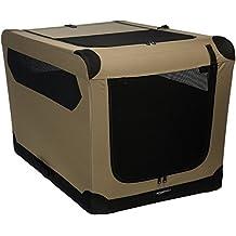 AmazonBasics - Transportín para perros, blando, plegable, ...