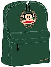 a892f7eaf2 Paul Frank Zaino Borsa A Tracolla Verde Kaki Crest posteriore a scuola