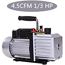 Ridgeyard 4,5 Pi3/min 1/3 HP 5 Pa Palette Pompa a vuoto CVC strumento aria ac1440r/min refrigerante