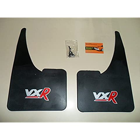 sportflaps guardabarros VXR Logo – par de guardabarros + fittings- corsa-astra