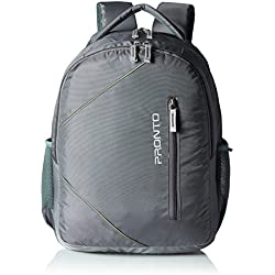 Pronto Trinity 25 Ltrs Grey Laptop Backpack (8808 - GY)