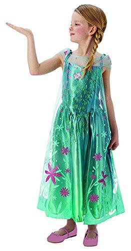 Imagen de rubie's  disfraz elsa de frozen para niñas, talla l i 610906l