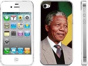 NELSON MANDELA ANC TRIBUTE iphone 4 4s hard back case cover