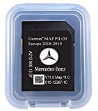 SD Card Garmin Map Pilot Audio 20 CD Touchpad V11 Star 2 Europa 2019 Teilenummer: A2139061307