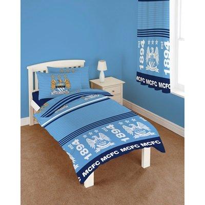 Chelsea Knit Beanie (Manchester City Streifen Single Bettwäsche Set)