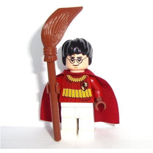 LEGO Harry Potter: Harry Potter (Quidditch Outfit) Minifigure with Broomstick by LEGO (English Manual)