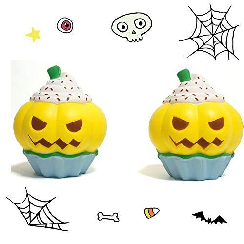 FairOnly Halloween Squishy Kürbis Cupcake Simulation Squeeze langsam -