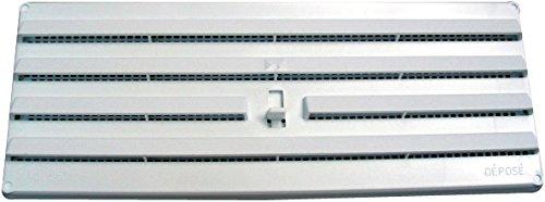 Grille plastique en applique DMO - Réglable - Dimensions 245 x 170 mm