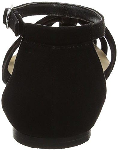 New Look Kaged, Ballerines Femme Noir (Black)