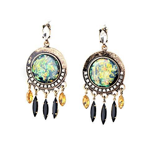 Wanmei-erhuan Exklusive Ethnischen Stil Marquise Erklärung Ohrringe Großhandel Online Shop Türkei Schmuck