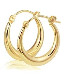 Goldmaid Pendientes de Mujer de oro amarillo