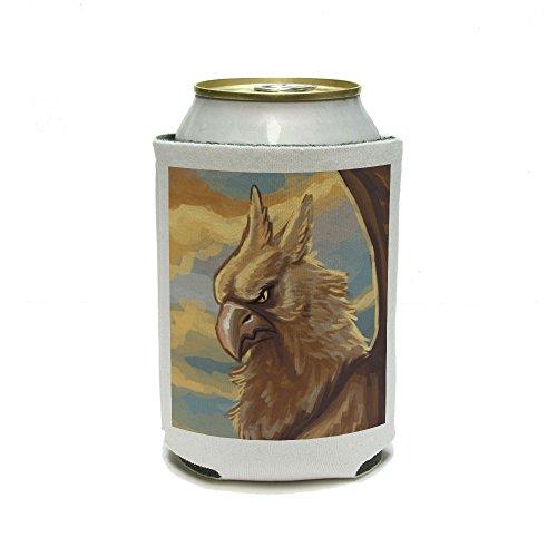 gryphon-griffin-griffon-gryffin-mitologica-criatura-fantasia-puede-refrigerador-bebida-insulator-beb
