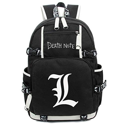 Cosstars Death Note Anime Luminoso Mochilas de a Diario...