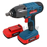 Cordless Impact Wrench 24v 1/2in. Drive '300nm' Li-Ion