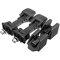 2pcs Engine Lower Hood Lock Latches Buckle Holder Durable Hood Lock Replacement For Jeep for Wrangler 97-06 Car Accessories