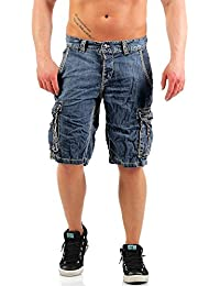 Mens Slim Stevie Shorts Timezone