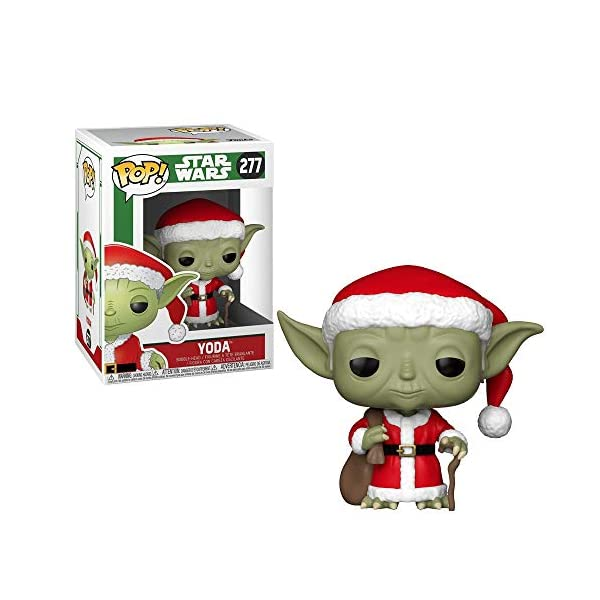 Funko Pop Yoda Papa Noel (Star Wars 278) Funko Pop Star Wars
