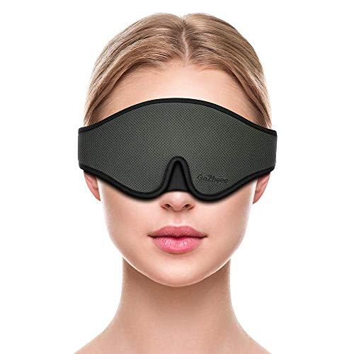 Schlafmaske Frauen Herren Augenmaske Baumwolle Lichtschutz Schlafbrille 3D geformte Augenschutz