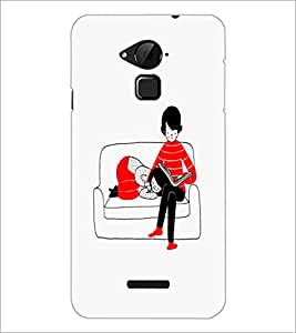 PrintDhaba Love Couple D-1160 Back Case Cover for COOLPAD NOTE 3 LITE (Multi-Coloured)