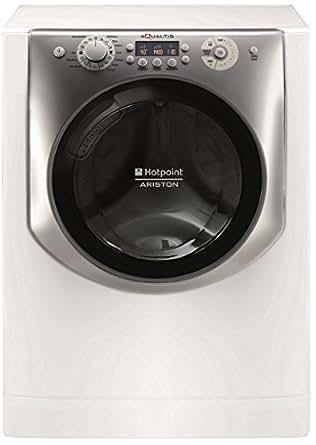Hotpoint AQ103F 49 FR Autonome Charge avant 10kg 1400tr/min A+++ Blanc machine à laver - machines à laver (Autonome, Charge avant, Blanc, Côte à côte, 71 L, Argent)