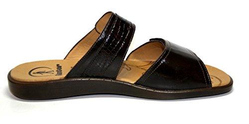 Ganter Damen Schuhe Pantoletten, Braun, Weite E Braun