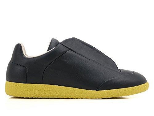 maison-margiela-slip-on-sneakers-uomo-s37ws0275sx8966965-pelle-giallo-nero