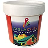 Pintura, pintura pared, pintura pared interior, mejor pintura aislante, pintura blanca, pintura exterior, pintura antihumedad, pintura térmica, AISLACCEL 4 y 14 lt (4 Lt)