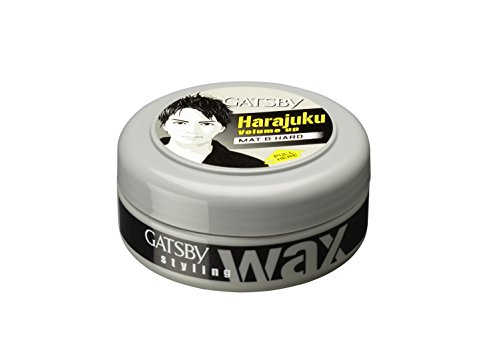 Gatsby Styling Wax, Mat and Hard, 75g