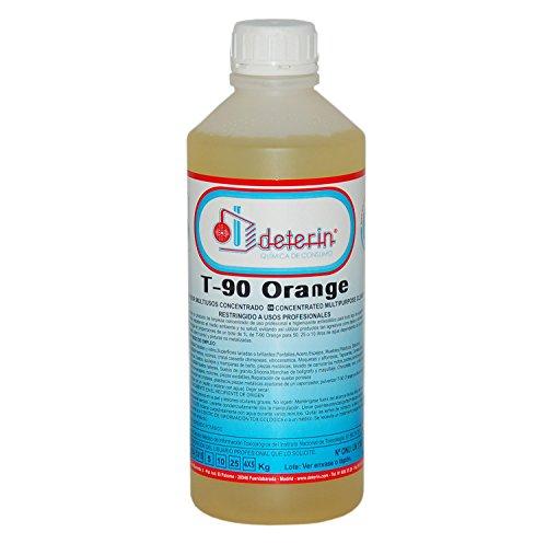 T90 Orange. Limpiacristales de chimeneas multiusos.