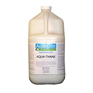 Aqua Thane Top Coat, Water-Based Wood Finish, Semi-Gloss, Quart by Aqua Coat
