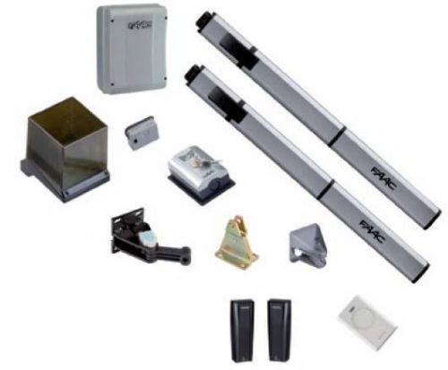 105633445- FAAC LEADER KIT 230V automazione oleodinamica per cancelli e portoni a battente MAX ANTA 1,8 MT GREEN