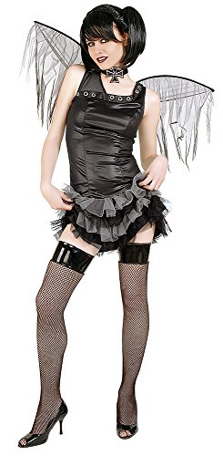 Haunted House Kostüm Gotika Punk mit Flügeln, Größe Jugendliche (Rubie 's Spain 603510)