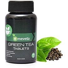 Emeveta Tulsi Ginger Lemon Organic Green Tea Tablets For Weight Loss 60 Veg Tablets