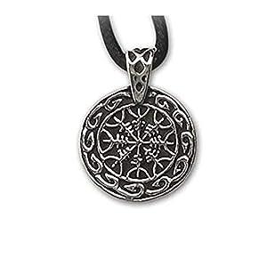 Anhänger Helme der Furcht Keltischer Schmuck Amulett aus 925er Silber Schutzamulett vor Gefahr etNox