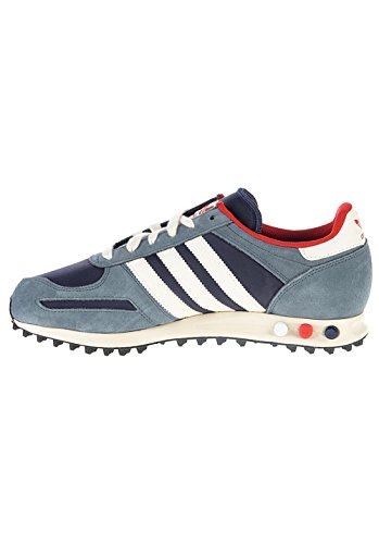 adidasQ35492 - Sandali con Zeppa uomo, Blu (navy/chalk/red), 46,5 EU Uomo navy/chalk/red