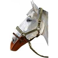 PFIFF 005362-40-1 - Babero para caballo (plástico), color amarillo