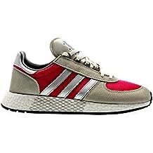info for 55241 08f7a adidas Originals Marathon Tech, Trace Cargo-Silver Metallic-Real Magenta, 8