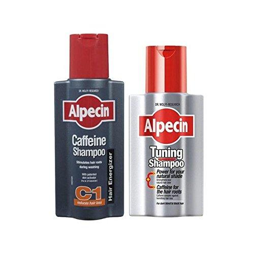 Alpecin Tuning Und Coffein Shampoo-Duo (Packung mit 6)
