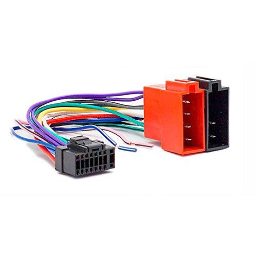 carav 15-101 KFZ ISO Head Kabel für cda-; cde-; cdm-; cva-; ida-; ina-; tda-; TDE-; TDM-Series (22 x 10) -> ISO (weiblich) Cdm-serie