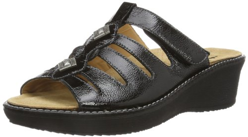 Ganter Gracia, Weite G 7-209289-01000 Damen Clogs & Pantoletten Schwarz (schwarz 0100)
