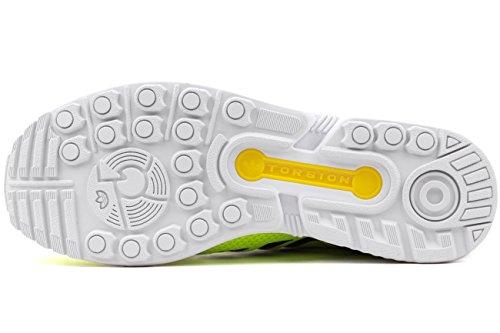 adidas Originals Zx Flux, Baskets mode homme Jaune électrique