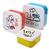 Simon's Cat Brotdosen 3-er Set