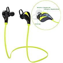 Bluetooth Headset, Verde G6 Mini auriculares Bluetooth 4.1 estéreo para iPhone 6S/6/6 Plus/6S Plus/5S, Samsung, Huawei Smartphones, Tablets, etc.